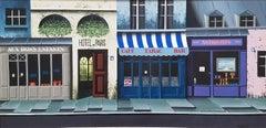 """Montmartre Street Scene, Paris, France"" Thomas Pradzynski, Architecture"