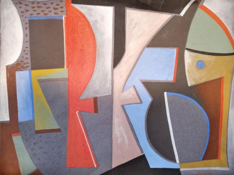 <i>Gonage</i>, 1949, by Piero Dorazio, offered by Helicline Fine Art