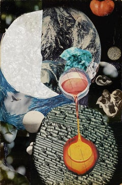 """Untitled (Love Potion),"" Juliette Gordon, New York Feminist Collage Art WAR"