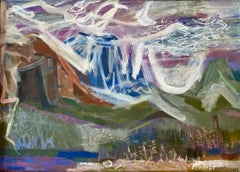 GLACIER PARK 1940s WPA Mid-Century Realism to Abstraction American Modernism