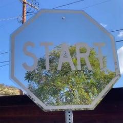 """Start"" - Mirror Finish Polished Stainless Steel Street Art Sculpture"