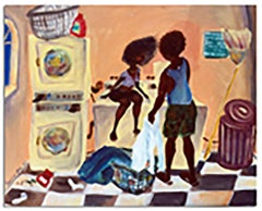 """""""Lovers Doin Laundry"""" Signed Limited Edition Print"""