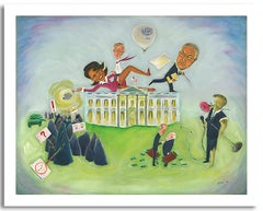 """""""Bush Administration"""" Signed Limited Edition Print"""