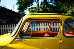"""Yellow Car"" Limited Edition Type C Metallic Print"