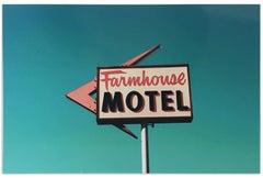 """Farmhouse Motel"" Limited Edition Type C Metallic Print"
