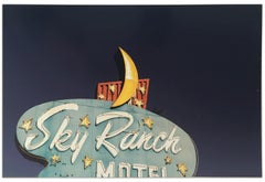 """Sky Ranch Motel"" Limited Edition Type C Metallic Print"