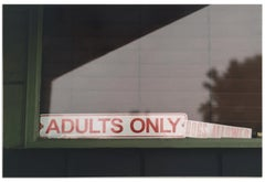 """Adults Only"" Limited Edition Type C Metallic Print"