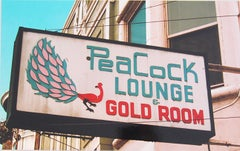 """Peacock Lounge"" Limited Edition Type C Metallic Print"