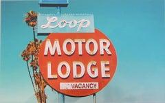 """Loop Motor Lodge"" Limited Edition Type C Metallic Print"