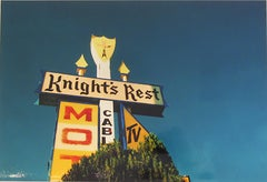"""Knights Rest"" Limited Edition Type C Metallic Print"