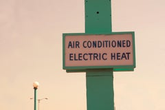 """Air Conditioned Electric Heat"" Limited Edition Type C Metallic Print"