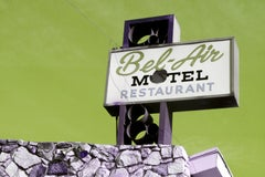 """Motel Bel-Air"" Limited Edition Type C Metallic Print"