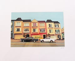 """Candy Color San Francisco"" Limited Edition Type C Metallic Print"