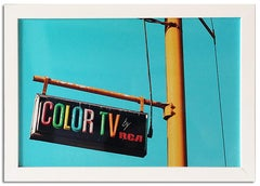 """Color TV"" Limited Edition Type C Metallic Print"