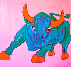 Pink Animal Paintings