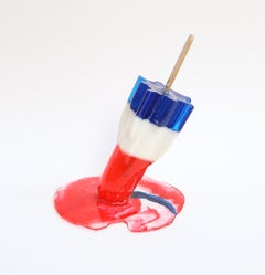 """Bomb Pop 4""-Orignal Resin Sculpture"