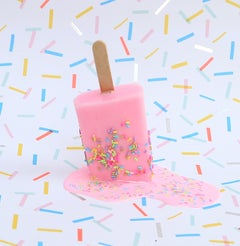 """Pink Sprinkles""-Original Resin Sculpture"