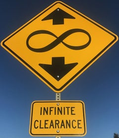 """Infinite Clearance"" - Contemporary Street Sign Sculpture"