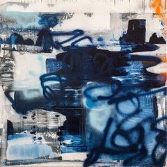 """Otterpops & Prosecco"" - Contemporary Abstract Art"