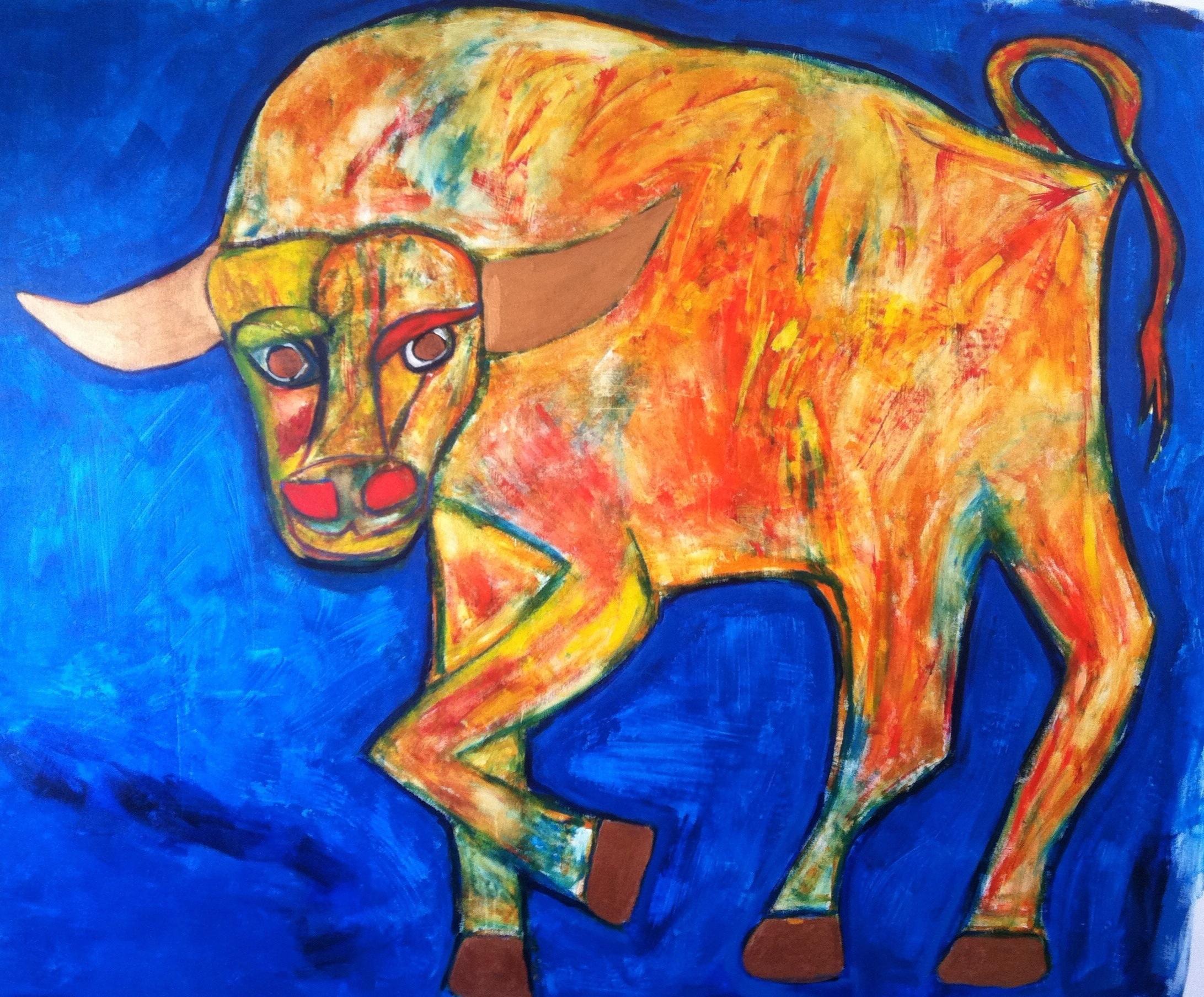 """Tango"" - Acrylic on Canvas"