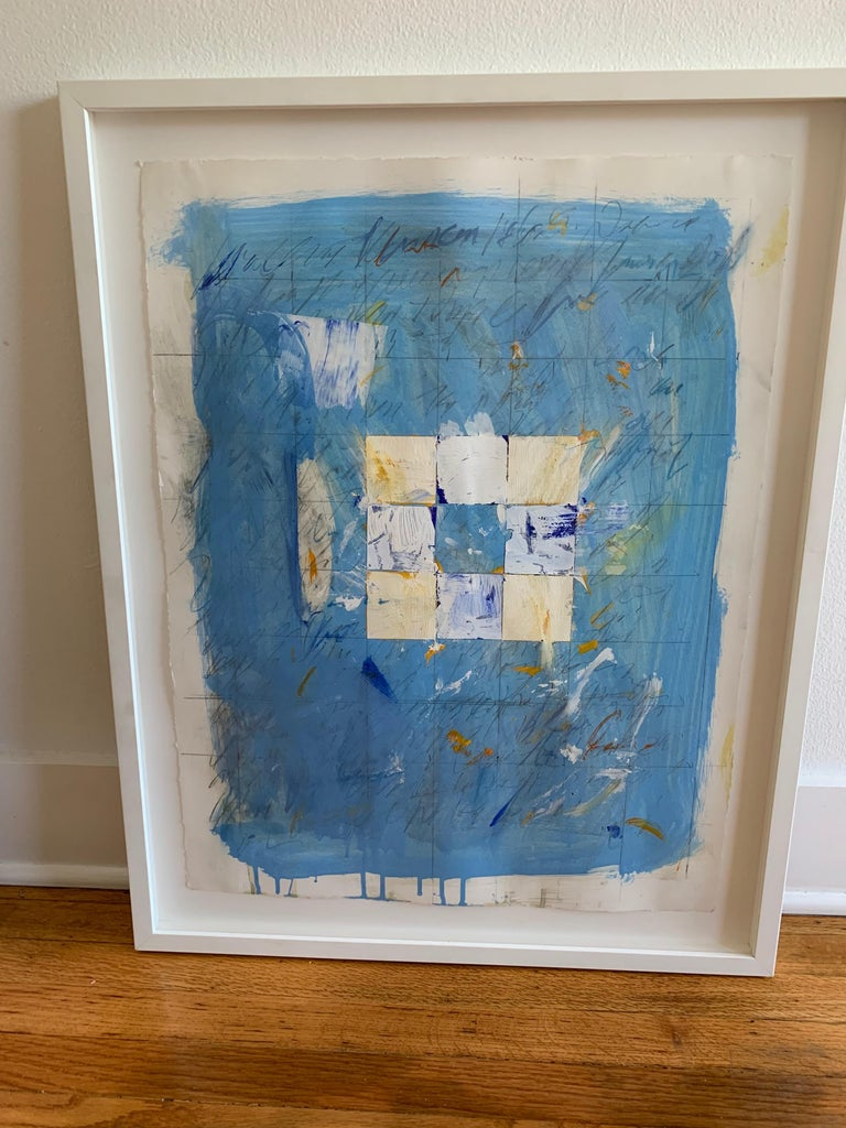 Trevor Norris was born into a large family living in a small but brightly painted english row house. Life inside was turbulent and colorful. Norris's art is a personal reflection using his written stories as a catalyst to spark each work. The text