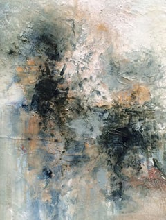 """Miscellaneous: Untitled #2""  abstract art, mixed media on canvas."