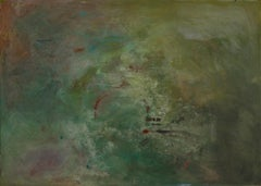 """Perseus: Untitled #5"" acrylic and mixed media on canvas."