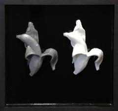 Banana Duet  on Panel - Original Resin Sculpture