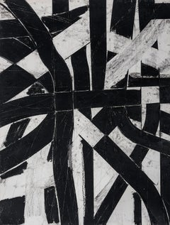 """""""Urban Interstitial Abstraction #8"""" – Charcoal and Pastel on Paper - Unframed"""