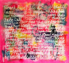 Dream Project #11, acrylic, spray paint, graphite, mixed media on canvas