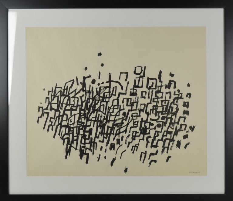 Jacques Germain Abstract Drawing - Abstraction