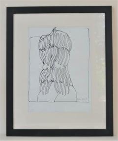 """Fanfreluche Parisienne"" preparatory drawing"