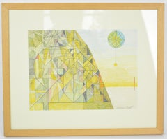 1930s Abstract Drawings and Watercolours