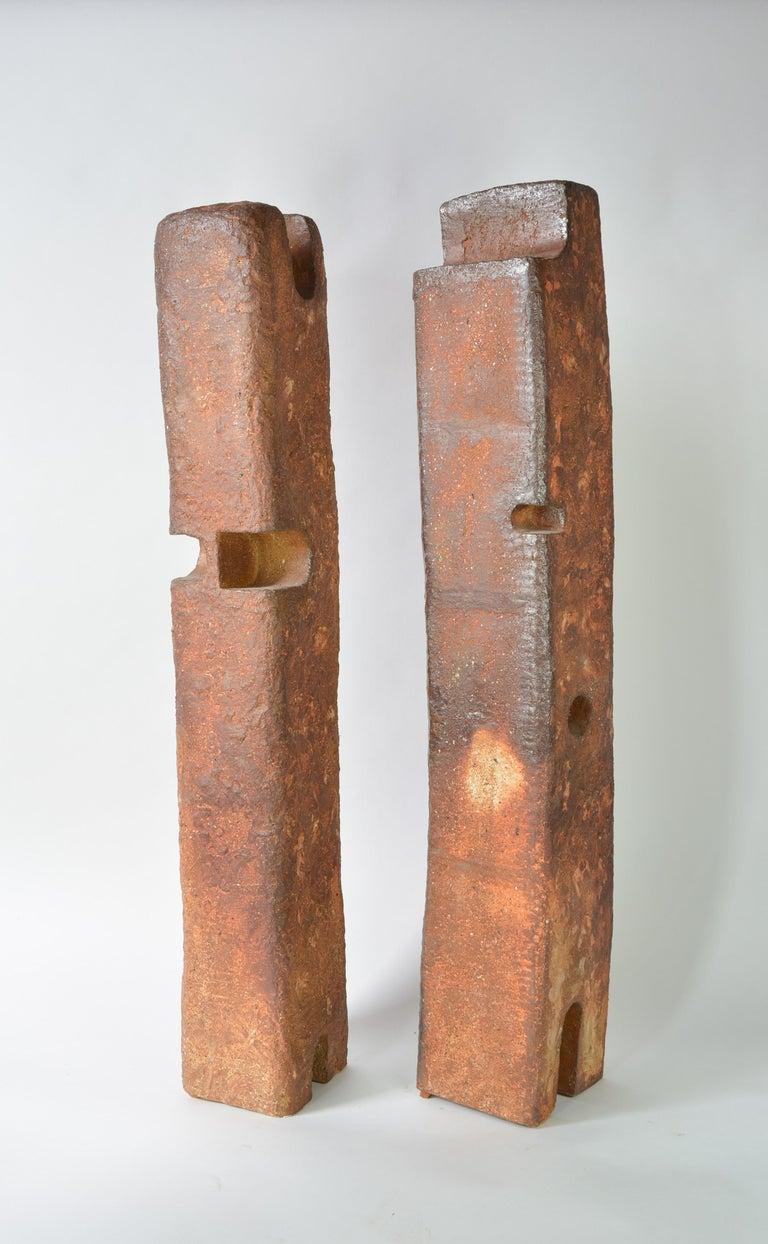 Couple - Sculpture by Lucien Petit