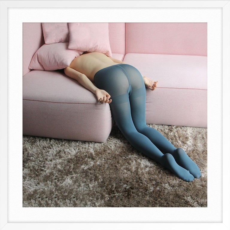 C-ouch 2 - Gray Color Photograph by Giuseppe Palmisano