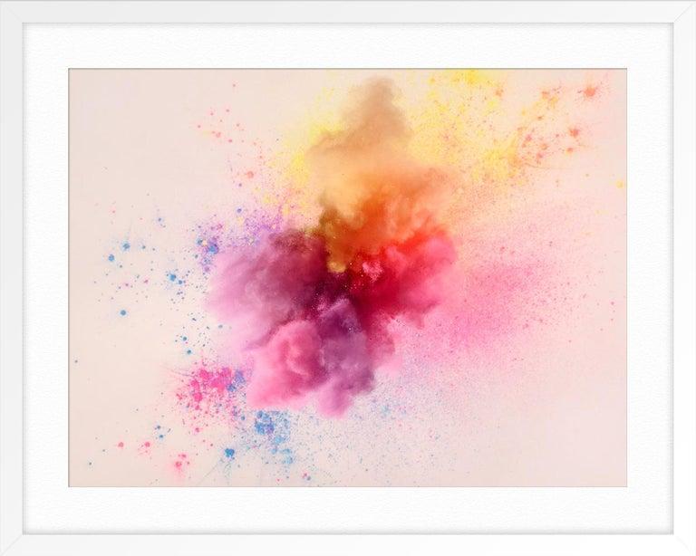 Nebula 1 - Pink Color Photograph by Karin Berndl
