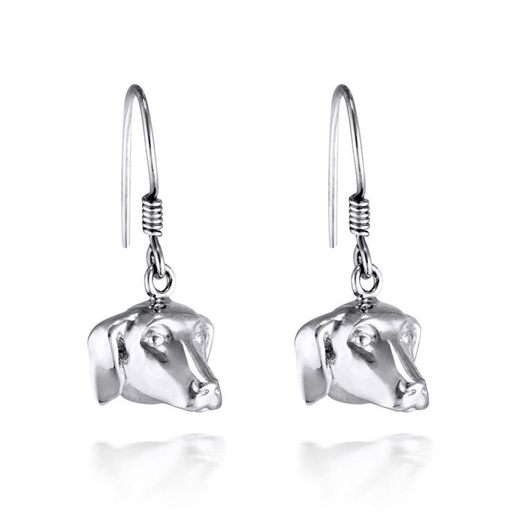 Pop Art - Sculpture - Jewellery - Gillie and Marc - Dog - Puppy - Silver Set For Sale 13