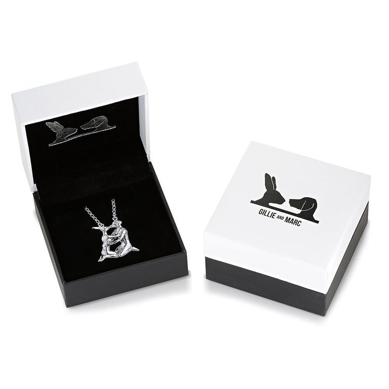Pop Art - Sculpture - Jewellery - Gillie and Marc - Love - Animals - Silver Set For Sale 16