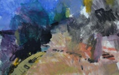 Edge of Casole by Sargy Mann - Gouache and Drawings