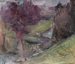 Gloucestershire by Sargy Mann - Gouache and Graphite