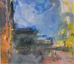 Orvieto by Sargy Mann - Gouache and pencil, 20th Century