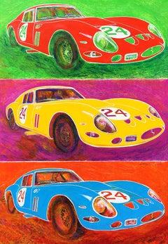 Three Ferraris