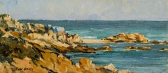 Kennebunkport, Maine, Coastal Landscape by Frederick Smith (b. 1885, American)