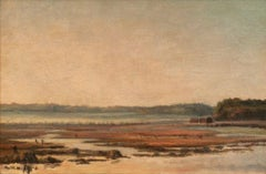 Bar Harbor at Mount Desert, Maine by George Washington Nicholson (1832-1912)