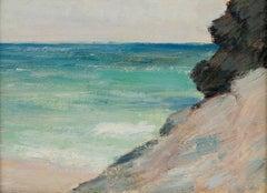 Coastal Scene of Bermuda by Clark Greenwood Voorhees (1871-1933, American)