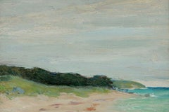 Beach View of Bermuda by Clark Greenwood Voorhees (1871-1933, American)