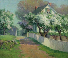 Spring Blossoms, Landscape by Alice Roney Hardwick (1876 - 1932, American)