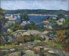 Gloucester Rocks, Ten Pound Island by Agnes Richmond (1870-1964, American)