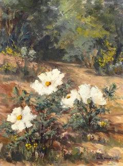Cherokee Roses, Landscape by Hazel Massey (1907-1990, American)