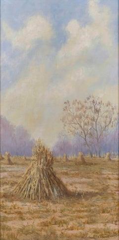 Summer's End, Landscape by Edgar Faris (1882-1945, American)